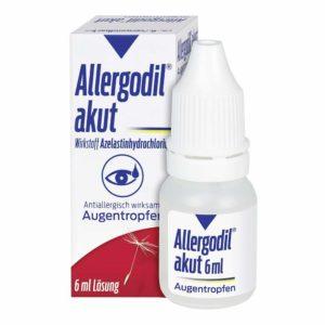 Allergodil akut 6 ml
