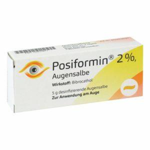 Posiformin 2% Augensalbe 5 Gramm